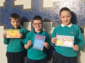 October Class Award Winners from Mr Kelly's P6 class