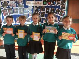 P5, P6 and P7 February Awards