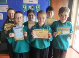 September Award Winners