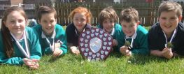St Patrick's PS Success at Apple Blossom Gala