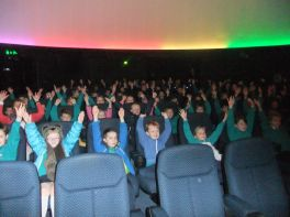 Primary Three visit to Armagh Planetarium