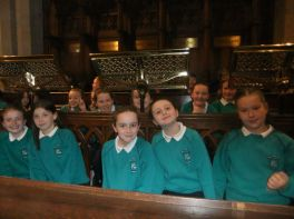 Choir join SINFONIA concert