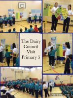 The Dairy Council Visit Primary 5