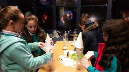 P6's enjoy launching rockets at the  Armagh Planetarium