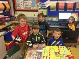 Primary Three Enjoy Their Christmas Toys With Their Friends During Golden Time