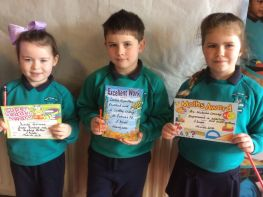 P1 - P3 March Award Winners