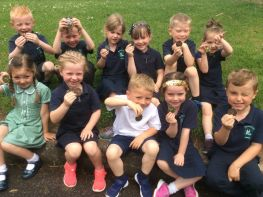 P1 and P2 Sports Day Medals