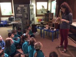 P4 visit the Armagh County Museum