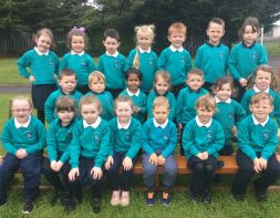 St. Patrick's welcomes the new P1's
