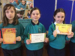 P1 - P4 September Awards