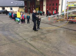 P4 Trip to Armagh Fire Station