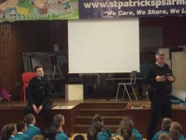 PSNI Assemly for P5, P6 and P7 pupils