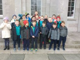 P4 visit Armagh County Museum