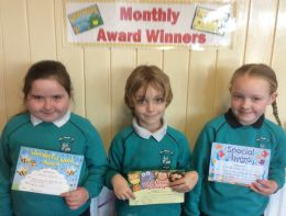 P1-P4 March Awards