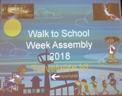 Preparing for 'Walk to School' week