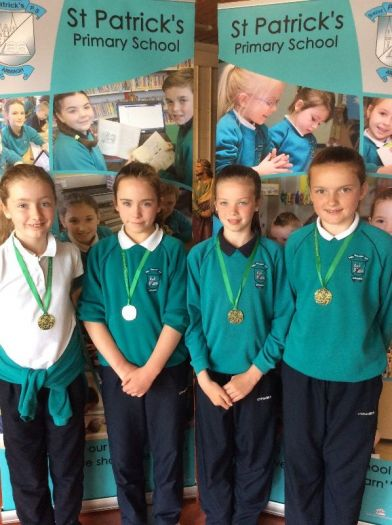 Special responsibility award winners for their work throughout the year as Playground Leaders