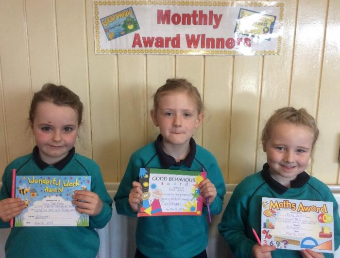 Miss Pearson's March Awards