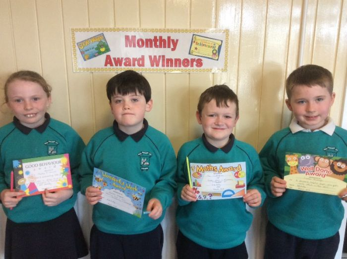 Mrs Duffy's March Awards