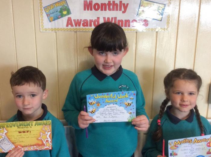 Mrs P. Agnew 's March Awards