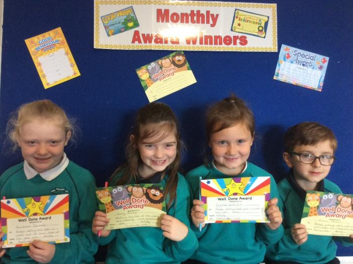 Mrs Duffy's Award winners