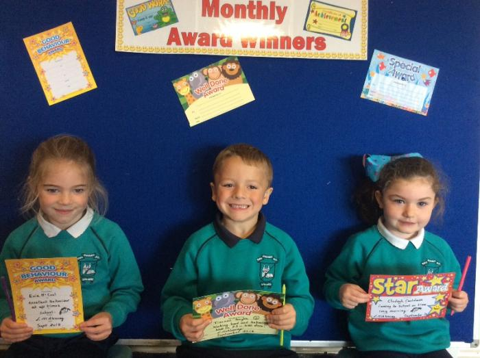 Mrs Mc Aleavey's Class Awards