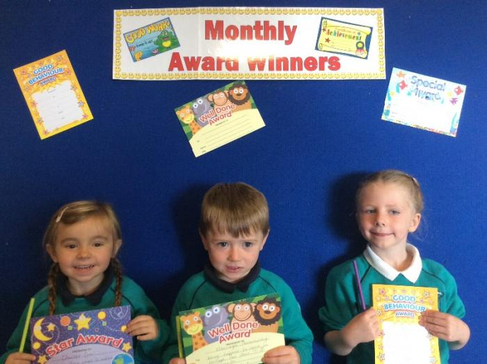 Mrs Thornton's Class Awards