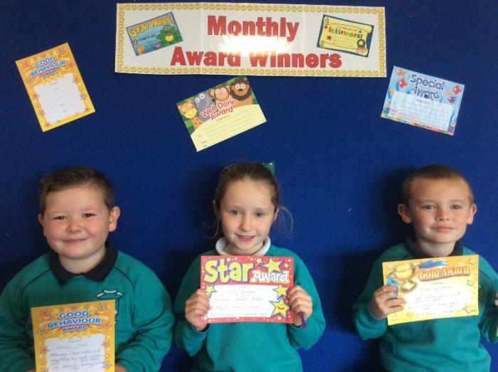 Mrs Agnew's Award winners
