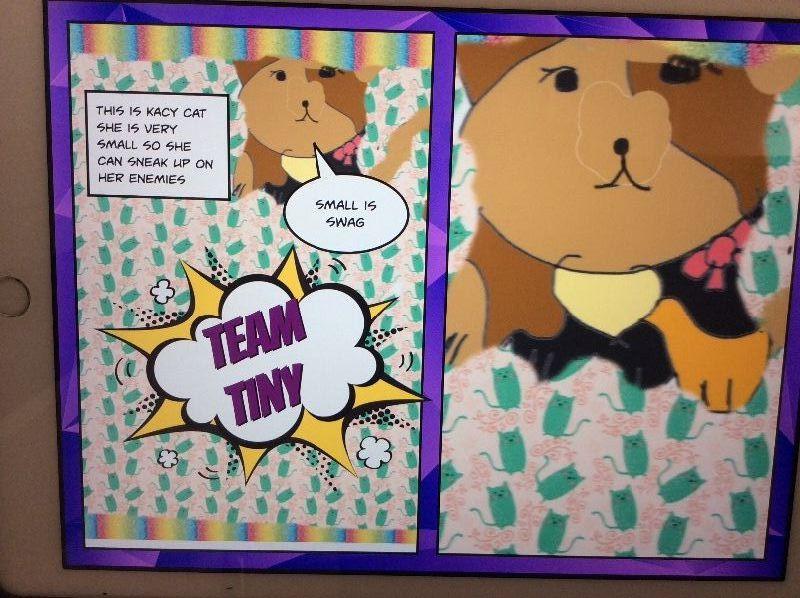 Mrs Smith's P4 use 'Book Creator' app