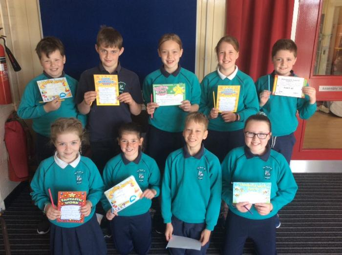 P6 Award Winners for May 2019
