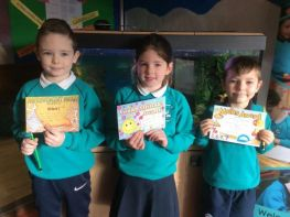 P1, P2 and P3 Awards