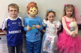 Primary Three Enjoy Dressing As Characters From Their Favourite Books.