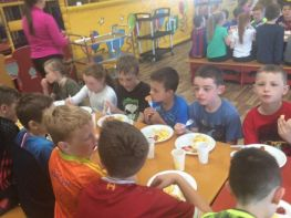 P4 end of year trip to 'Funhouse', Newry