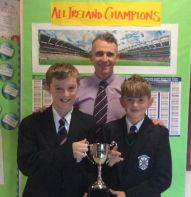 Past pupils bring home the silverware.