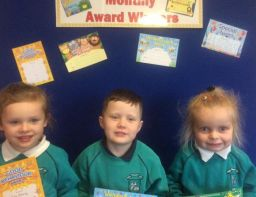 November Award Winners in P1 and P2
