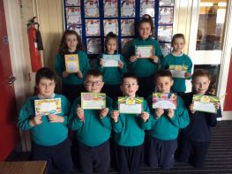 P5-7 Monthly Class Awards for February