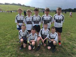 St Pat's attend Malachy Mc Geeney Gaelic Blitz
