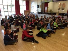 "P7 classes "" Keep the Beat"""