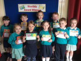 April Award Winners