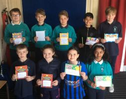 P5-7 Class Award Winners May 2019