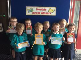 P1 May/ June Award Winners