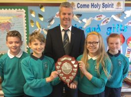 "St Pat's win ""Our Lady of Knock"" Competition"