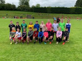 P6 pupils take part in Rugby Blitz