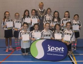 Primary 6 and 7 Girls\' Soccer Blitz